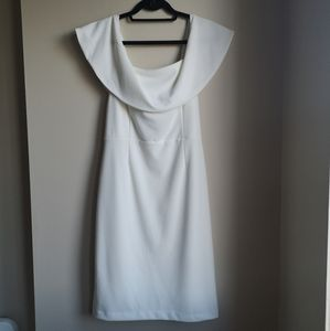 NEW white off shoulder dress
